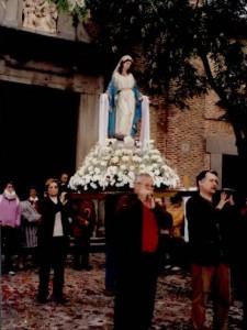 Hermandad Virgen Milagrosa, imagen Virgen.